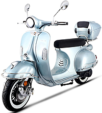 CARB Approved 2020 150cc Scooter BELLAGIO-150 with Remote start, Anti-theft Security Alarm, USB Port, White Wall Tires EPA/DOT/CARB, 99.9% assembled. Free shipping to your door, free helmet and 1 year bumper to bumper warranty.