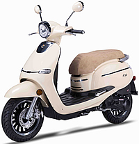 "ZNEN 150cc Scooter F10-150 with 12"" Big Tires, Dual Disc Brakes, Remote start, Anti-theft Security Key Ignition and Alarm System, USB Port, EPA/DOT/CARB 99.9% assembled. Free shipping to your door, free helmet and 1 year bumper to bumper warranty."