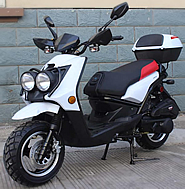 """ROKETA 150cc Moped Scooter CITY-150 w/ 12"""" Big Tires (MC-31A-150). Free shipping to your door with a free scooter helmet. 1 year warranty."""