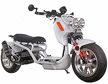 "ICE BEAR ""GEN IV MADDOG"" 150cc Scooter Street Bike with HID Headlights, LED Turn Signals & Tailight, Digital Dash, Upgraded Suspension/Muffler/Wheel Fenders/Tires/Seat/Mirrors PMZ150-21, FREE SHIPPING TO YOUR DOOR"