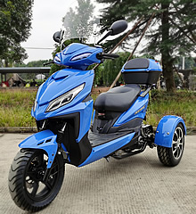 Ice Bear MOJO 150cc Motor Trike PST150-9 (Sporty Design) w/ KENDA Tires