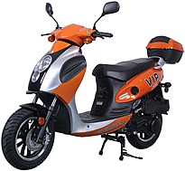 "CARB Approved TAOTAO 150cc Scooter Moped POWERMAX POLIT150 with 12"" Tires and chrome rims. Free shipping to door, free lift-gate service, free helmet, free 1-year bumper to bumper warranty."