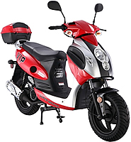 """TAOTAO 150cc Scooter Moped POWERMAX 150 PMX150 with 12"""" Tires. Free shipping to door, free lift-gate service, free helmet, free 1-year bumper to bumper warranty."""