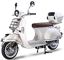 2018 ZNEN 150cc Scooter VES 150 with Remote start, Anti-theft Security Alarm, USB Port, White Wall Tires EPA/DOT/CARB, 99.9% assembled. Free shipping to your door, free helmet and 1 year bumper to bumper warranty.