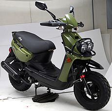 2021 Amigo 150cc Scooter Warrior 150 with Protective Heavy Duty Hand-guards, USB Port, LED Lights, ABS Disc Brake (99.9% Assembled). Free shipping to door, free helmet or scooter cover. 1 year bumper to bumper warranty.