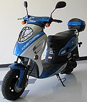 """VIP-50"" TAOTAO 50cc Moped Scooter Fully Automatic with 10"" Tires (CY50-A)"