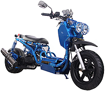 """ICE BEAR """"MADDOG"""" 150cc Scooter Street Bike with 12"""" Big Tires Fully Automatic (PMZ150-19)"""