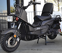 "Fully Assembled 2019 Amigo 150cc moped scooter ROVER-150  with Remote Start, Anti-theft Security Alarm, Dual Disc Brake, 13"" Big Tires, GATES BELT, NGK PLUG, USB Port. Free shipping to your door, free helmet and 1 year bumper to bumper warranty."